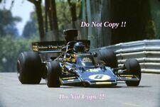 JACKY ICKX JPS Lotus 72e Gran Premio di Spagna 1975 fotografia 6