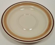 WATER COLORS HEARTHSIDE BLUSH STONEWARE 3 SAUCER PLATES  HAND DECORATED