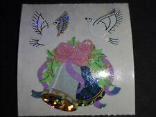 Sandylion Stickerabschnitt 90s Prismatic Hochzeit Glocke Sticker Stickeralbum 💜