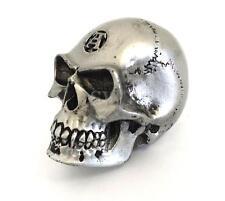 Gothic Novelty Cast Resin Skull Gear Knob Shift Stick Retro Hot Rod Universal