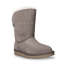 NEW Koolaburra by UGG Suede Buckle Short Boots - Remley Sz 7 NO BOX