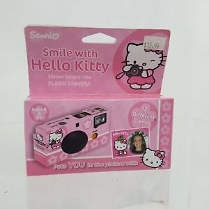 Sanrio Hello Kitty Polaroid Instant 35mm Single-Use Flash Camera  2008