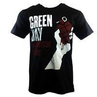 "GREEN DAY Men's T-shirt ""AMERICAN IDIOT""  TOUR ROCK MUSIC CONCERT BLACK - MEDIUM"