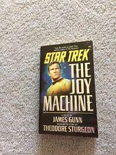 Star Trek The Joy Machine James Gunn First Printing
