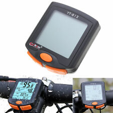 Digital Cycling Bike Bicycle LCD Cycle Computer Odometer Speedometer Waterproof