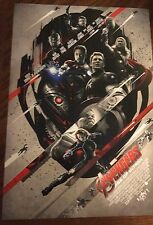 Avengers Double Feature Age Of Ultron Poster