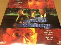 The Real Thing Laserdisc LD James Russo Emily Lloyd Gary Busey SEALED BRAND NEW