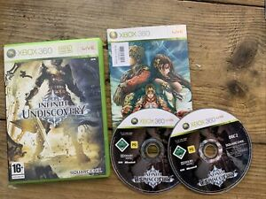 Infinite Undiscovery (xBox 360) 2 Disk Used tested