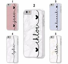 Personalised Custom Marble Name Case for Apple iPod Touch 5th 6th 7th Generation