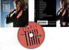 "TINA TURNER ""Simply Tina"" (CD) Soul Deep... 1995"