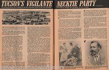 Tucson's Vigilante Committee Necktie Party