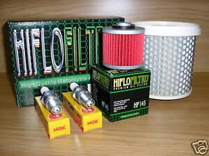 XV535 87-95 Service Kit  XV 535 Virago Air Filter Oil Filter Spark Plugs