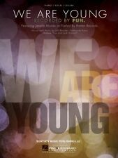 We Are Young Sheet Music Piano Vocal fun. NEW 000354278