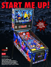 2011 Stern The Rolling Stones Pinball Flyer
