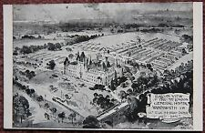 1915 Balloon View 3rd London General Hospital Wandsworth SW Postcard World War I