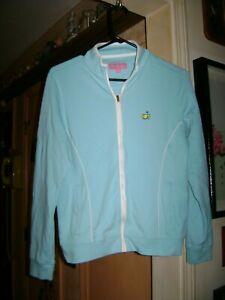 Women's Magnolia Lane Golf Masters Jacket...Medium Blue...Medium