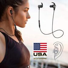 Waterproof Sport Bluetooth Headset Wireless Headphones In-Ear Earbuds