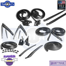 68 GM A Body Weatherstrip Seal Kit 14 Pieces 2 Door Hardtop New Metro