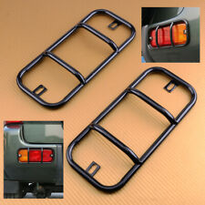 2pcs Rear Bumper Fog Lamp Light Cover Trim Frame Fit For Suzuki Jimny 2007-2017