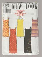 NEW LOOK pattern 6865 sundresses SZ 8 10 12 14 16 18 uncut unused factory folded