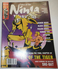 Ninja Warriors Magazine Demon Wars & Black Angel January 1989 081914R