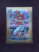 NICK SENZEL 2020 TOPPS GYPSY QUEEN GOLD CHROME REFRACTOR /50... CINCINNATI REDS