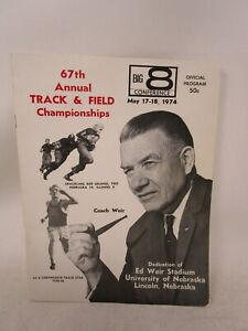 Vintage 1974 Big 8 Conference *67th ANNUAL TRACK & FIELD CHAMPIONSHIPS PROGRAM*