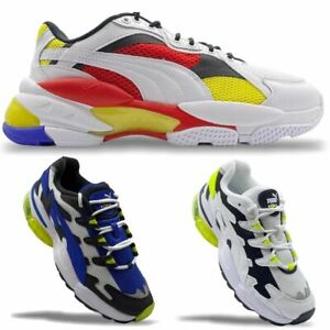 Men's PUMA LQD Cell  Sneakers Trainers Lifestyle Shoes Casual