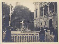 Pavillon de Monaco L'Exposition universelle de Paris 1900 Vintage argentique