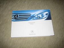 Mercedes B-Klasse T245 Betriebsanleitung von 6/2005, 360 Seiten