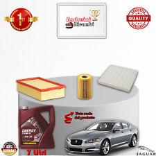 KIT TAGLIANDO FILTRI + OLIO JAGUAR XF 3.0 DIESEL V6 177KW 240CV DAL 2009 ->