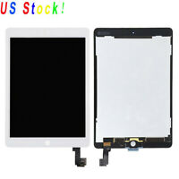 White Touch Screen Digitizer Glass LCD Screen Display for iPad Air 2 A1566 A1567