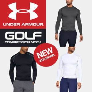 Under Armour ColdGear Armour Compression Mock Golf Baselayer - NEW! 2020