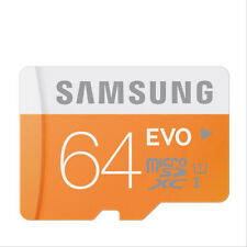 For Samsung 64 GB EVO Micro SDXC Memory Card Class 10 48MB/s MicroSD TF Galaxy