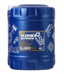 MANNOL 10L GM Dexron II 2 Automatic Transmission Fluid AQM Power Steering Fluid