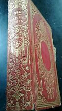 Rare Antique poetry philosophy tuppers poetical works 1954 Boston gold edging