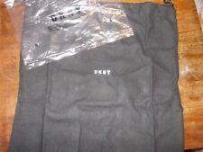 DKNY black Storage drawstring bag Dust Cover New in pkg 11x11