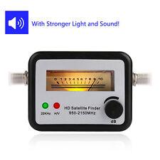 Digital Mini SAT Finder Analog Satfinder HDTV Satelliten Finder +F-Kabel Signal