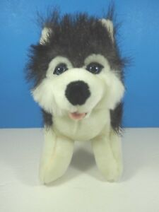 B.J.Toys 9 Inch Plush Husky Dog