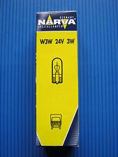 10xGlassockellampe W3W 24V/3W (W2,1x9,5d) NARVA, lose # 17109 LKW-Busse-Trucks