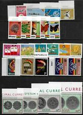 Ghana 1957 to1978 - 12 Commemorative Issues - MNH - details below