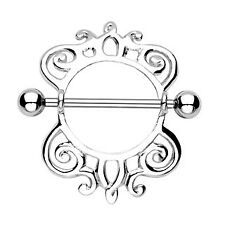 Surgical Steel Royal Majestic Nipple Shield