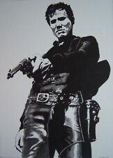 New listing Original art - The Left-Handed Gun - 2019 film noir, western pulp illustration