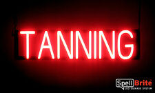 SpellBrite Ultra-Bright TANNING Sign Neon-LED Sign Neon look, LED power