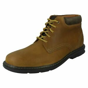Clarks Mens Casual Lace Up Boots - Rendell Work