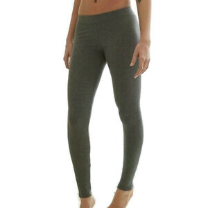 Aerie Leggings Women Size XS Short Gray Athletic Yoga Low Rise Stretch New 23X24