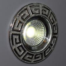 Einbaustrahler LED Griechisch Silber Spotstrahler Spotlicht Design Lampe Wand