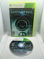 Resident Evil Revelations Microsoft Xbox 360 Near MINT DISC VERY Fast Ship World