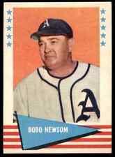 1961 FLEER ALL TIME BASEBALL GREATS BOBO NEWSOM #67 NM-MT+   BLR2W1
