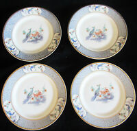 "Set of 4 Theodore Haviland Limoges France AMBAZAR 6.5"" Bread Plates"